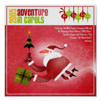 2005 FaLaLaLaLa ADVENTure In Carols Cover Poster
