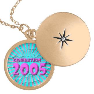 2005 LOCKET NECKLACE