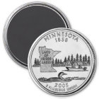 2005 Minnesota State Quarter magnet