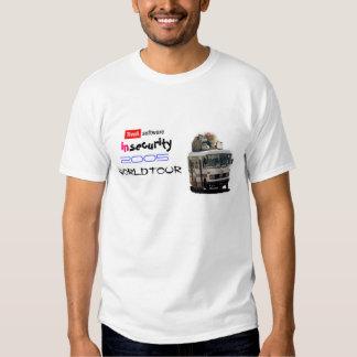 2005 Tivoli Security World Tour Tee Shirts