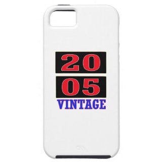 2005 Vintage iPhone 5 Cover