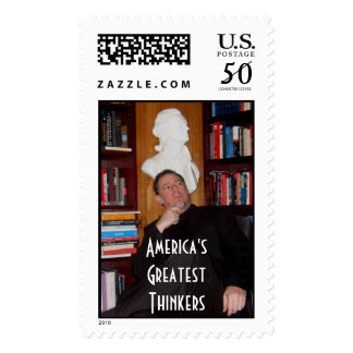 20060203-003-thinker, America'sGreatestThinkers Postage