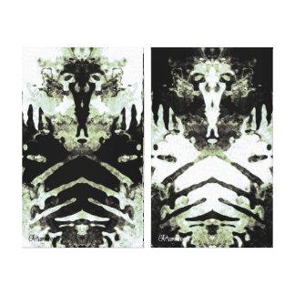 2006_0030 Rorschach 4 Impresiones De Lienzo