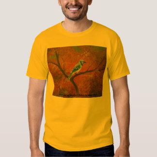 2006-046 Bluejay in the Autumn 16x20 canvas, Au... T Shirt