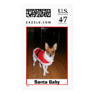 2006_0627BabySanta0031, Santa Baby Postage