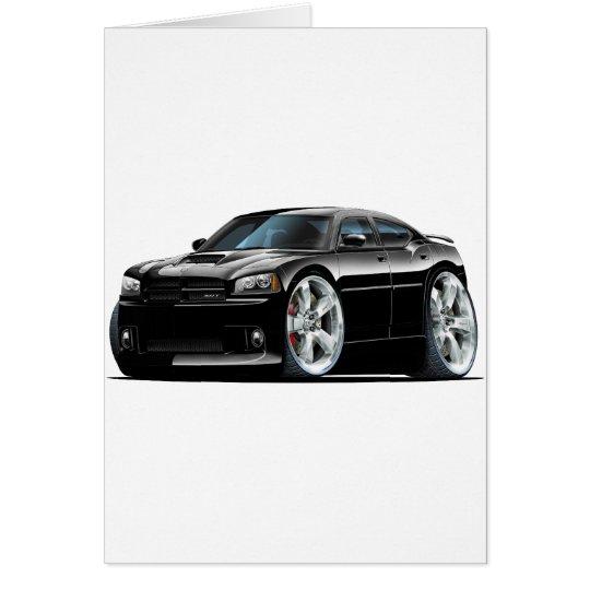 2006-10 Charger SRT8 Black Car Card