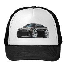 2006-10 Charger SRT8 Black Car Trucker Hat