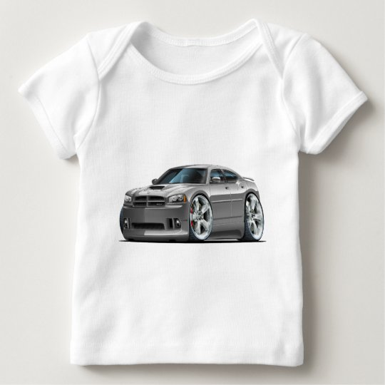 2006-10 Charger SRT8 Grey Car Baby T-Shirt