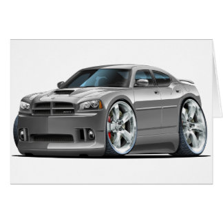 2006-10 Charger SRT8 Grey Car Card