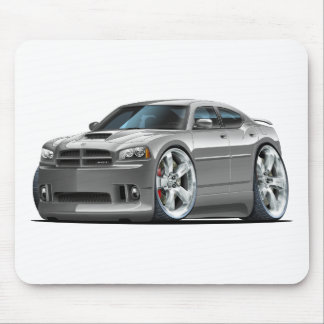 2006-10 Charger SRT8 Grey Car Mouse Pad