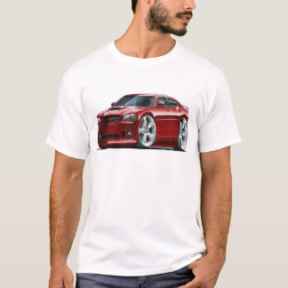 2006-10 Charger SRT8 Maroon Car T-Shirt