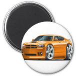 2006-10 Charger SRT8 Orange Car Refrigerator Magnets