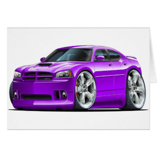 2006-10 Charger SRT8 Purple Car Card
