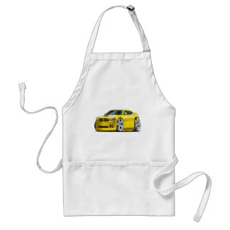2006-10 Charger SRT8 Yellow Car Adult Apron