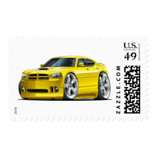 2006-10 Charger SRT8 Yellow Car Postage
