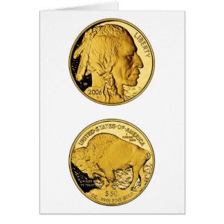 2006 American Buffalo Proof Gold Bullion Coin Greeting Card