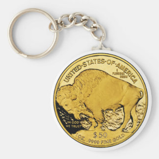 2006 American Buffalo Proof Gold Bullion Coin Keychain