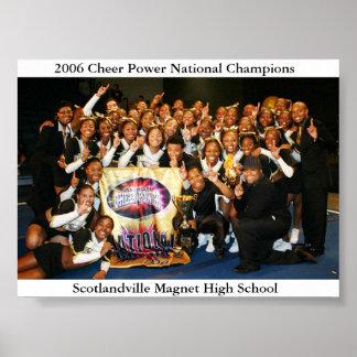 2006 campeones del nacional del poder de la alegrí póster