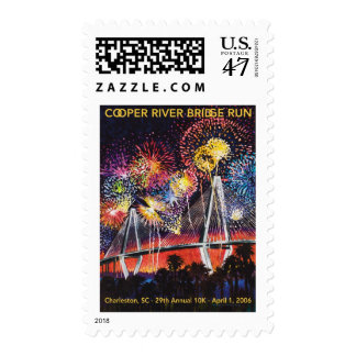 2006 Cooper River Bridge Run Stamp