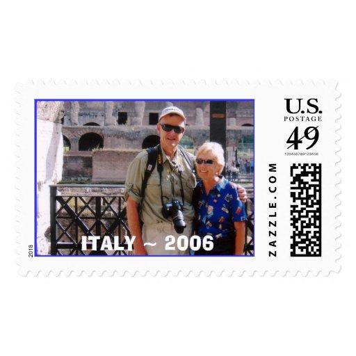 ~ 2006 de Italia, ITALIA Sello