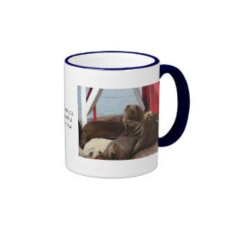 2006 Dec 237, 2005 August 089, Morro Bay, CAA W... Ringer Coffee Mug