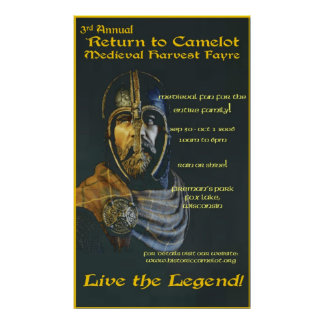 2006 Return to Camelot Fayre Poster