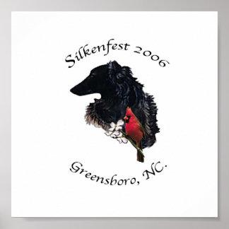 2006 Silkenfest logo Bobbie Deis poster/print