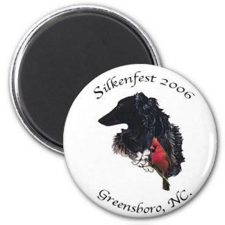 2006 Silkenfest logo magnet