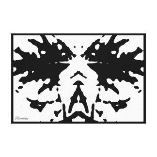 2007_0396 Rorschach Impresiones En Lienzo Estiradas