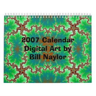2007 Calendar Digital Art by Bill...