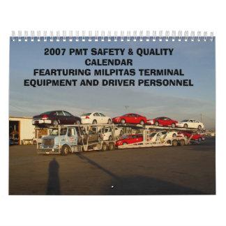 2007 Calendar project 006, 2007 PMT SAFETY & QU...