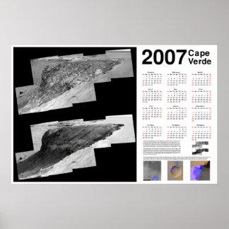 2007 Cape Verde (Mars) Calendar Posters