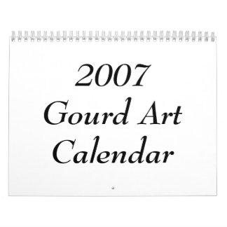 2007 Gourd Art Calendar