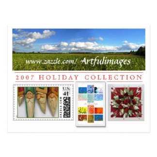 2007 Holiday Collection Campaign Postcard