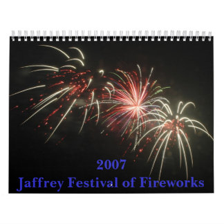 2007 Jaffrey Festival of Fireworks Calendar
