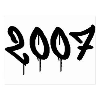 2007 POSTCARD
