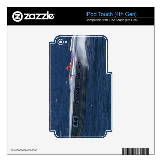 2007 Powerboat Champion Skin For iPod Touch 4G