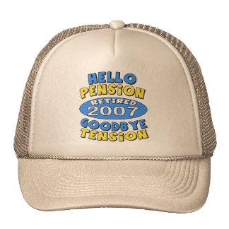 2007 Retirement Trucker Hat