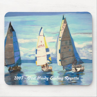 2007-Sailing Regatta Mousepad