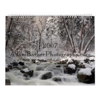2007 Scenic Calendar AdamBarkerPhotography.com