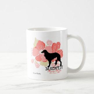 2007 Silkenfest logo Crystal Buckey Coffee Mug