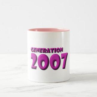2007 TAZAS DE CAFÉ