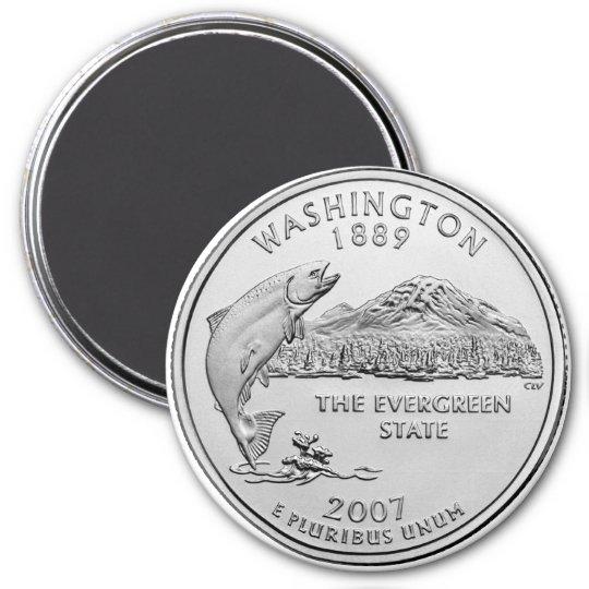 2007 Washington State Quarter Magnet
