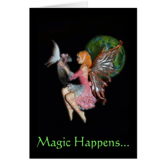 2007FairyCatV2, Magic Happens... - Customized Card