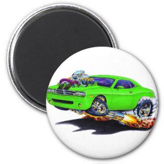 2008-10 Challenger Green Car Magnet