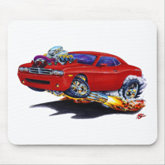 2008-10 Challenger Maroon Car Mouse Pad