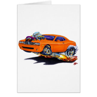 2008-10 Challenger Orange Car Card