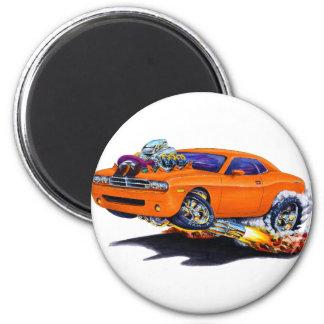 2008-10 Challenger Orange Car Magnet