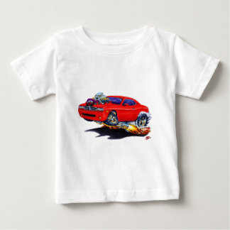 2008-10 Challenger Red Car Baby T-Shirt