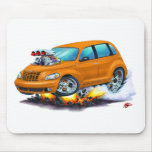 2008-10 coche del naranja del crucero de la pinta tapetes de ratón